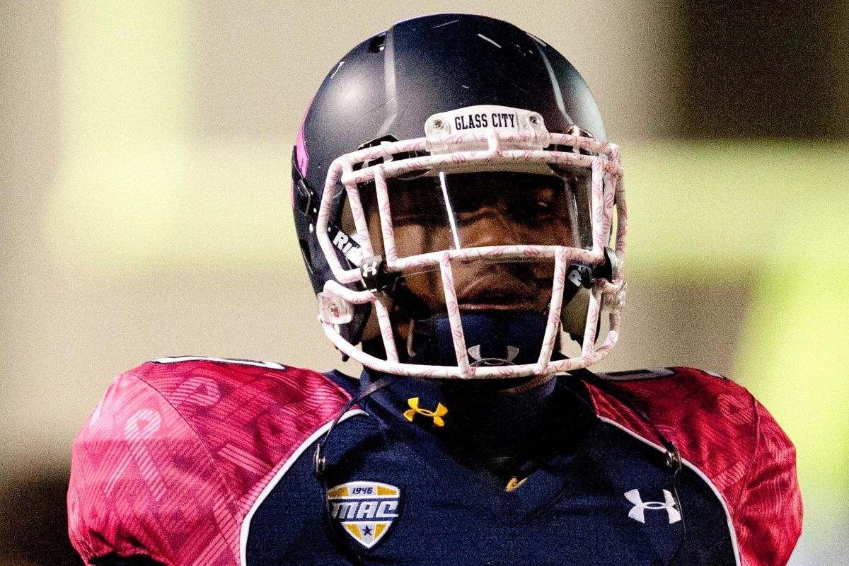 Some people are already comparing JonVea' Johnson to standout Toledo WR Alonzo Russell.