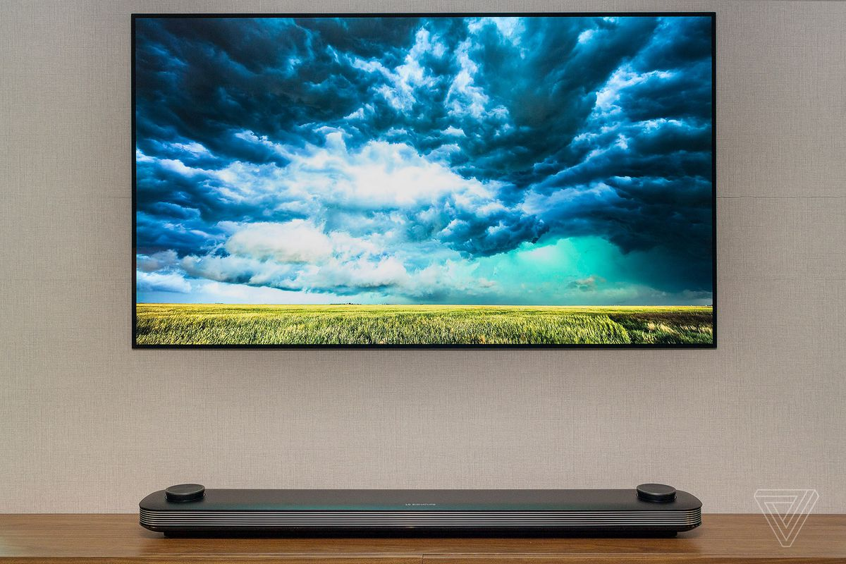 Lg S New 77 Inch Oled Wallpaper Tv Is Now Available For The Price Of