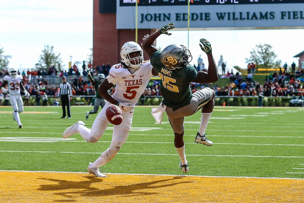 COLLEGE FOOTBALL: OCT 28 Texas at Baylor