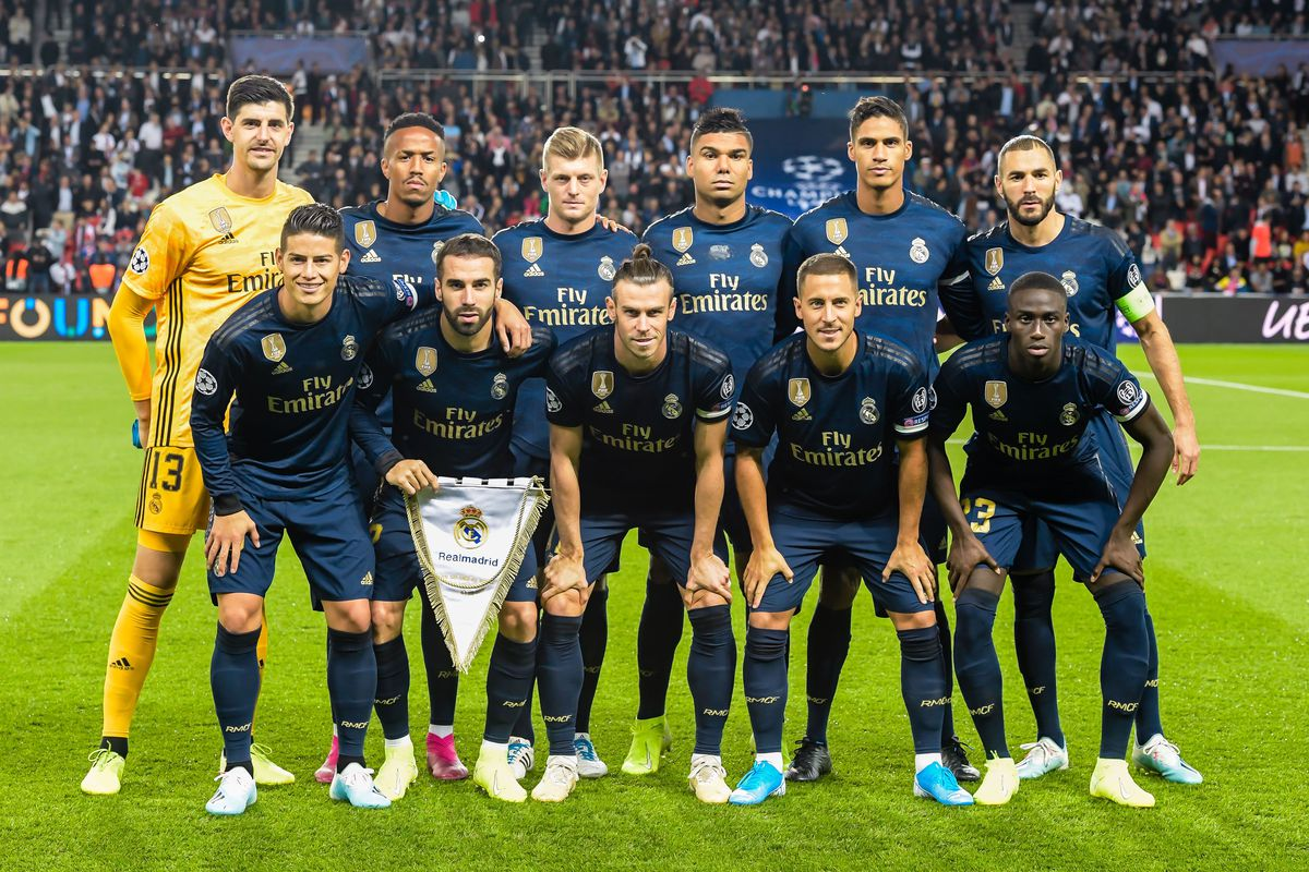 "UEFA Champions League""Paris St Germain v Real Madrid"""