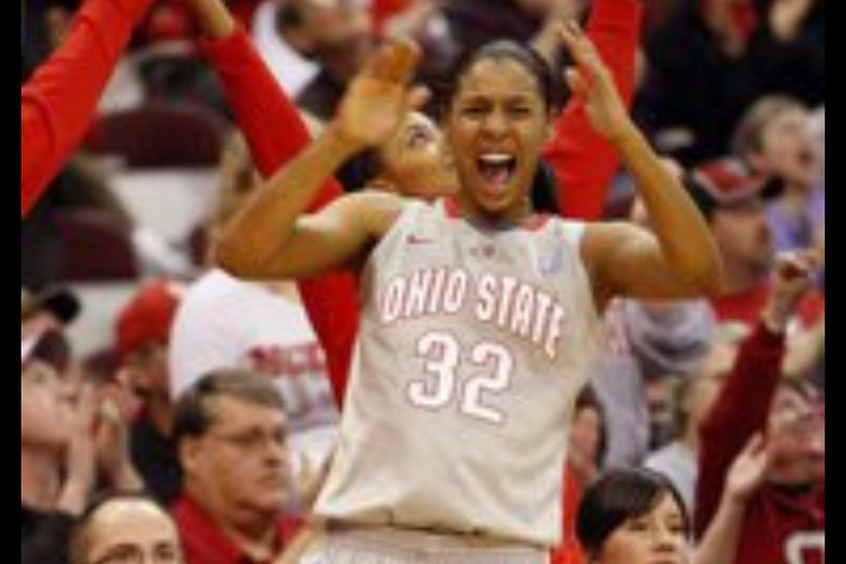 Brianna Sanders is a student assistant coach for Ohio State after a knee injury in the 2010-11 season cut her career short.