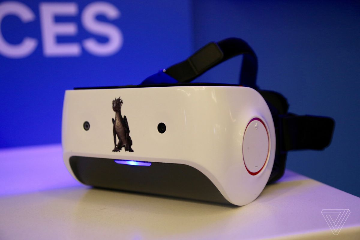 Image result for Qualcomm's standalone VR headsets will also connect to PCs