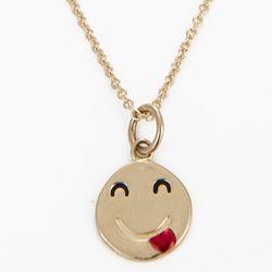 "<b>Alison Lou</b> Small Tongue Out Necklace, $790 at <a href=""http://owennyc.com/shop-women/women-designers/women-alisonlou/small-tongue-out-necklace.html"">Owen</a>"