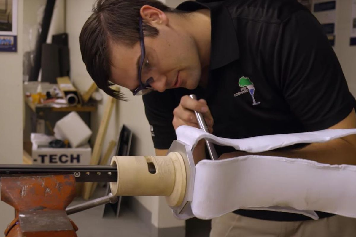 BYU Engineering student creates prosthetic for amputees in Sierra Leone