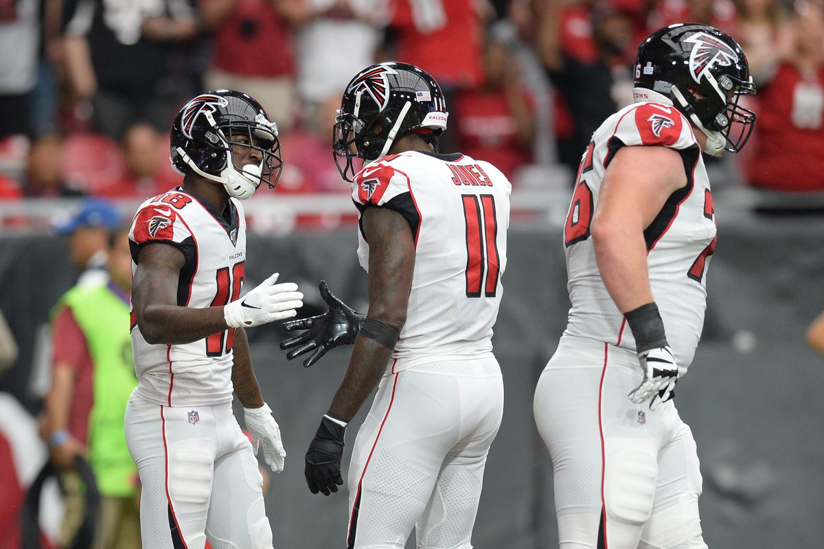 Falcons Injury Update Julio Jones Calvin Ridley Austin Hooper Limited Wednesday The Falcoholic