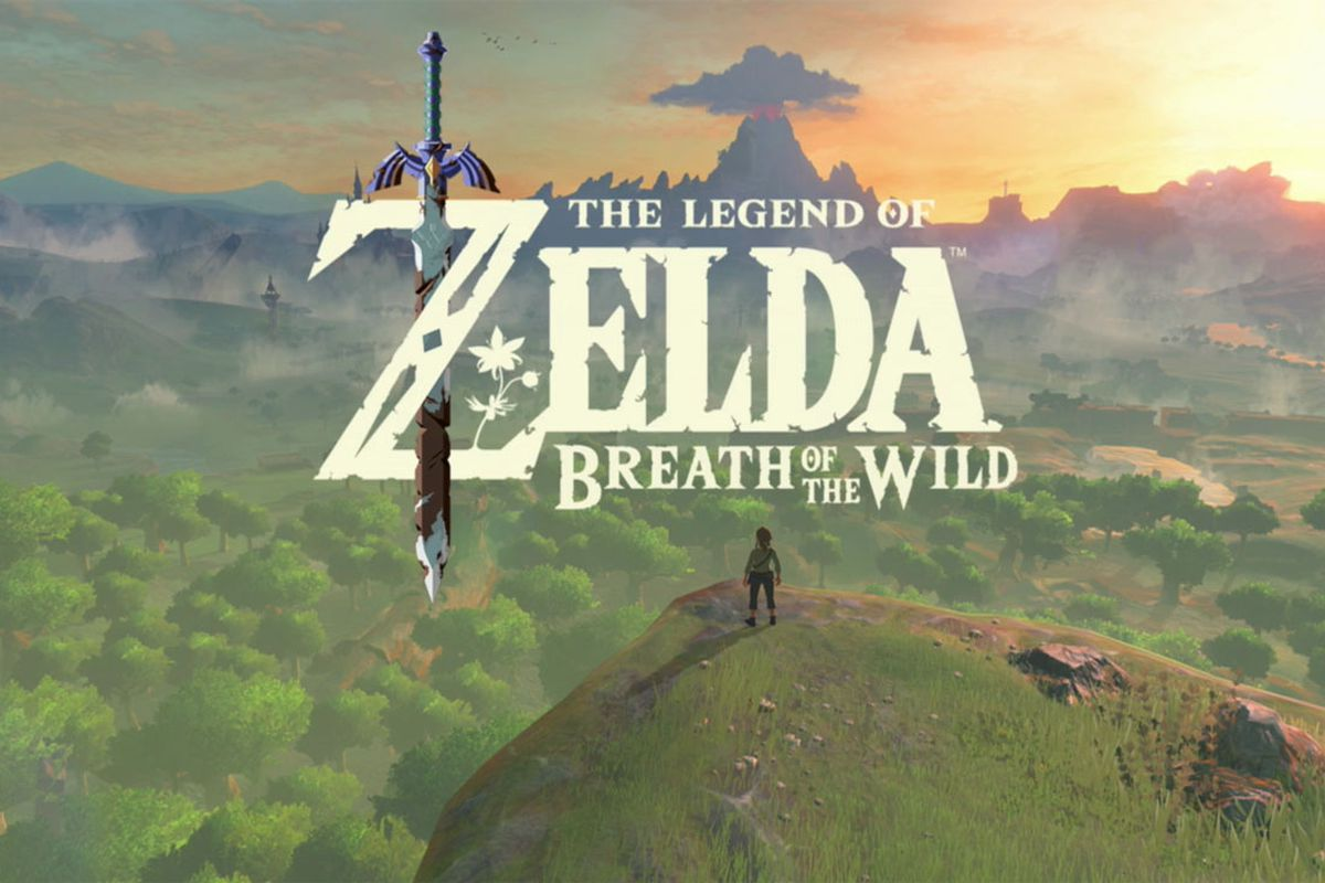 the line to play legend of zelda breath of the wild is the real