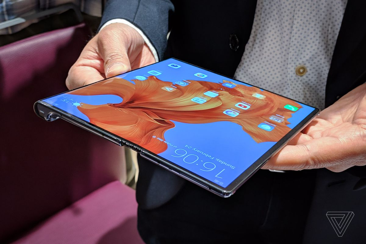 Huawei's Mate X is the best first draft of a foldable phone - The Verge