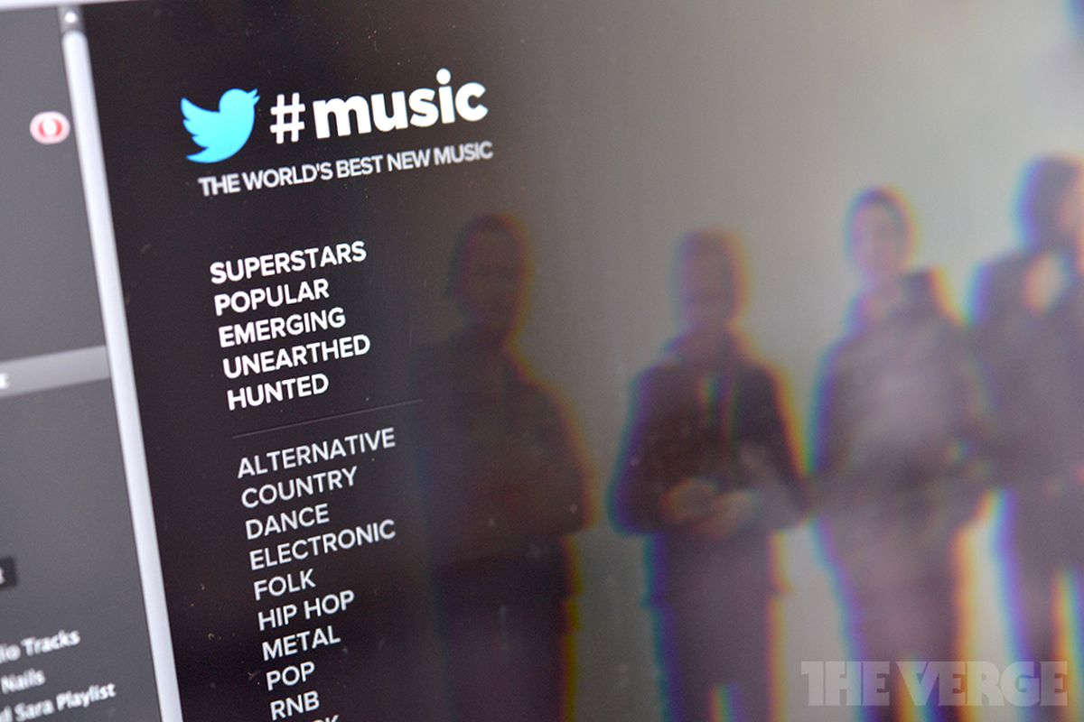 Twitter #Music Spotify app (STOCK)