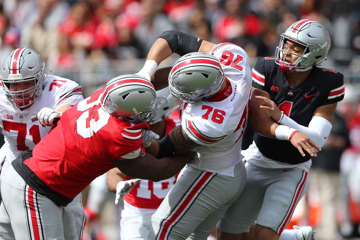Ohio State's defensive line could be one of the best in the country
