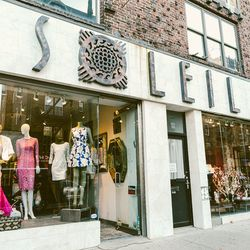 """<b>↑</b>Eclectic boutique <b><a href="""" http://soleilboutique.tumblr.com/"""">Soleil Boutique</a></b> (7143 Austin Street) offers one-stop shopping with a selection of clothing, accessories, home goods and furniture—so you can revamp not just your closet, but"""