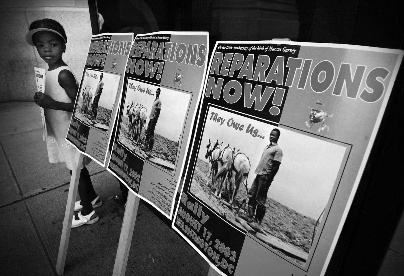 The 2020 Democratic primary debate over reparations