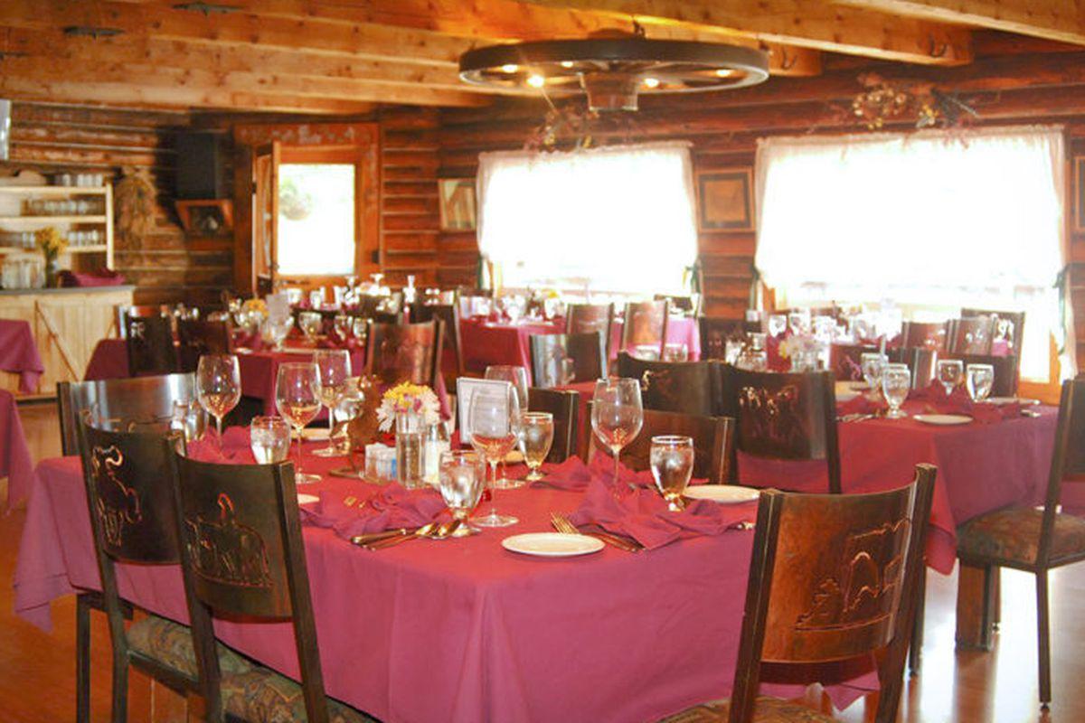 CannaCamp's dining room.