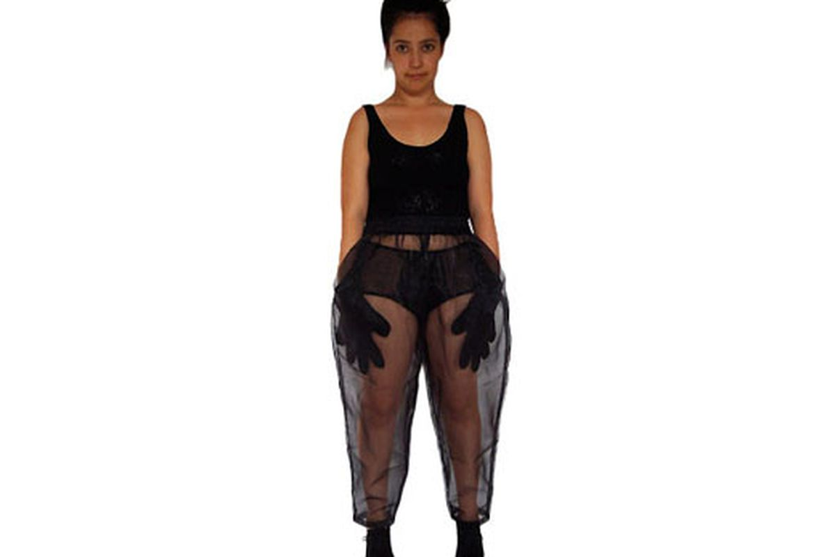 """Image via <a href=""""http://lightvisionstore.com/category/bottoms/see-thru-pants"""">Light Vision Store</a>"""