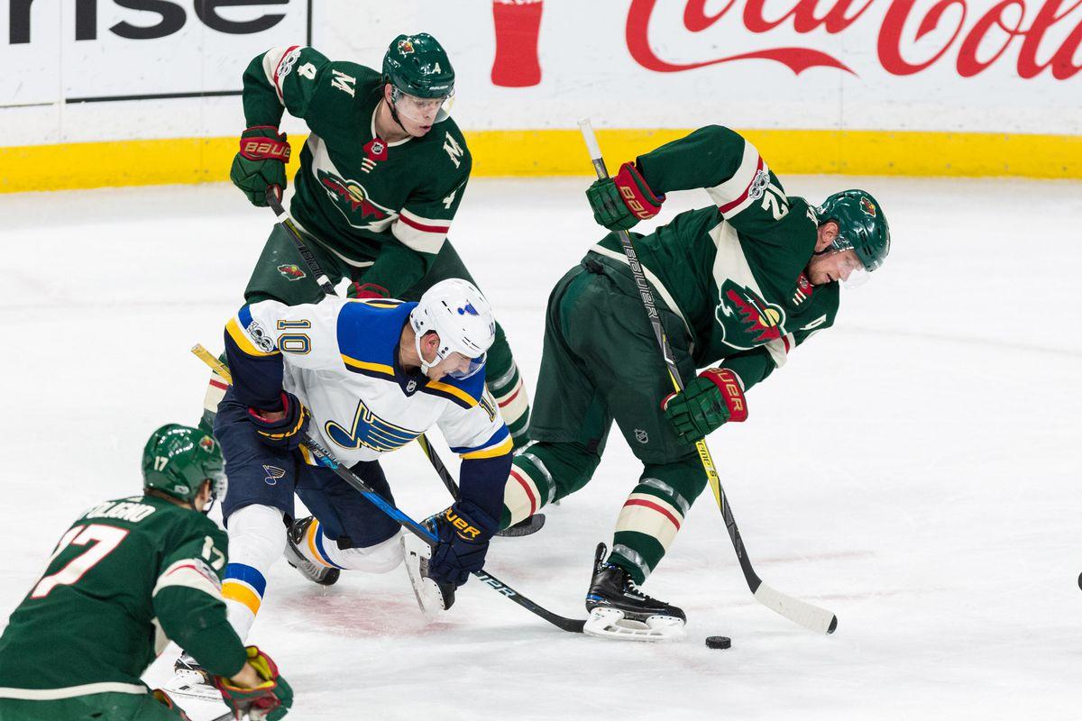 NHL: St. Louis Blues at Minnesota Wild