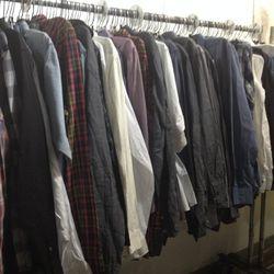 Button-down shirts, $30