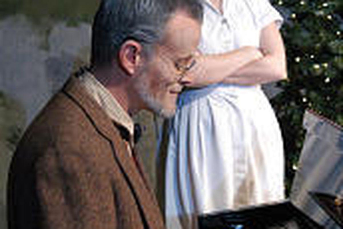 Dave Tinney stars as John and Korianne Johnson as Constance.