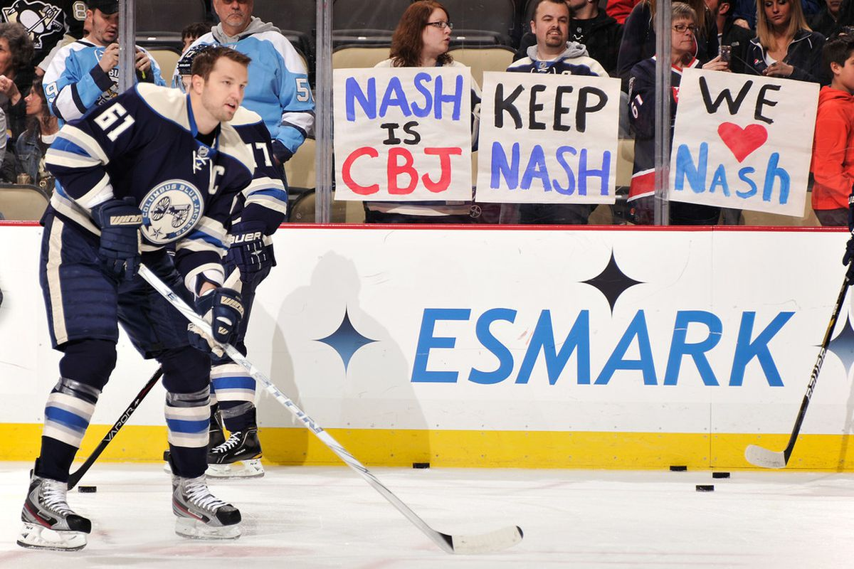 best service a4cea 751bc By Calling Out Rick Nash, Scott Howson May Have Written Own ...