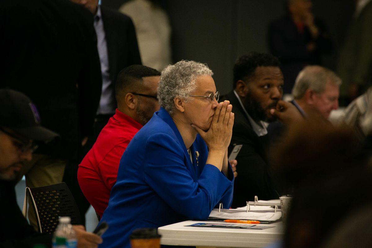 Cook County Democrats endorse Kim Foxx, P. Scott Neville, Michael Cabonargi — but slate could test Toni Preck…