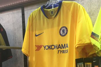 e793965e1 New Nike 2018-19 Chelsea away kit spotted in the wild