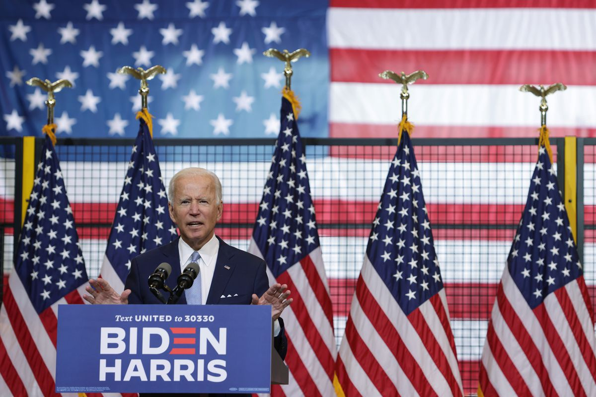 Presidential Candidate Joe Biden Holds Campaign Event In Pittsburgh
