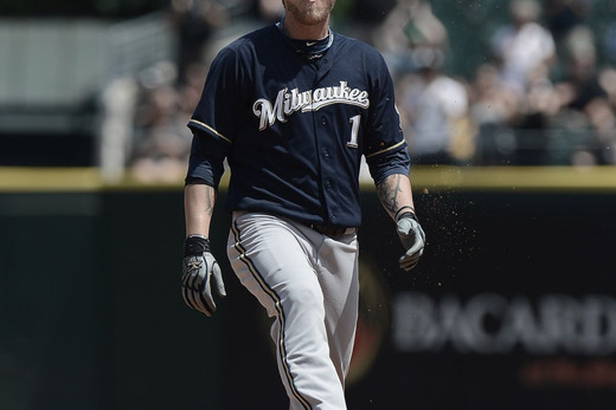 The ability to make his helmet float is something that no one can predict from Corey Hart.