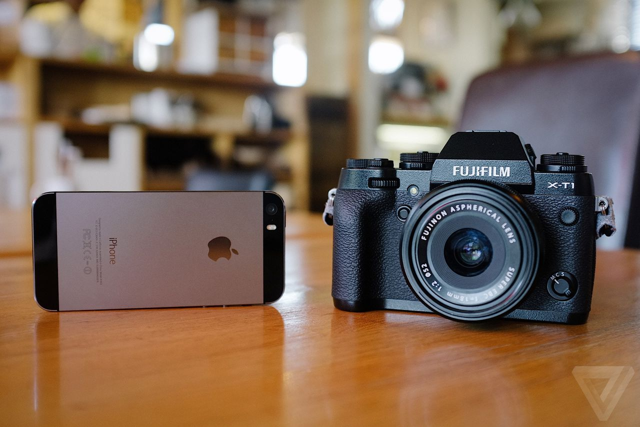 How does the iPhone hold up against a serious camera? | The