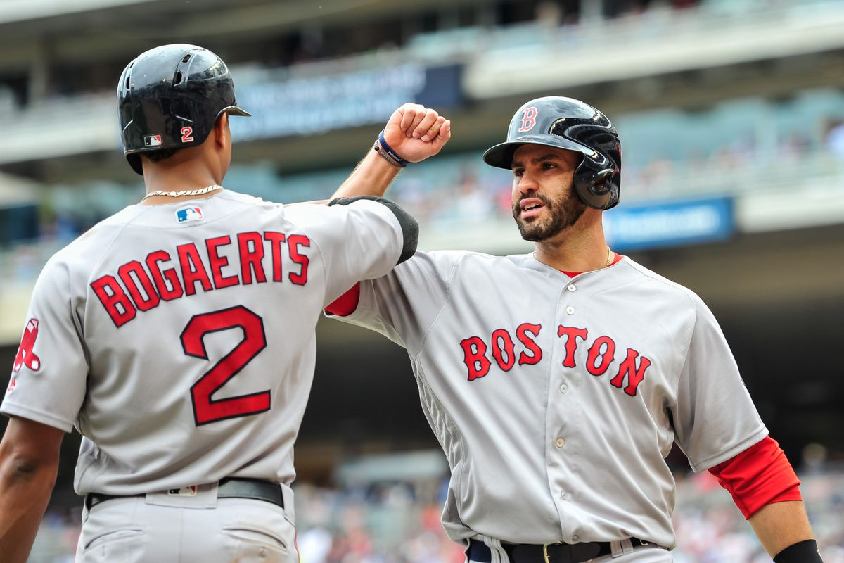 reputable site bfef8 a2efe J.D. Martinez is the leader the Red Sox have been looking ...