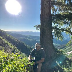 Shad Stevens started a retreat business called Sun Rock Adventures to help people have meaningful experiences in nature.