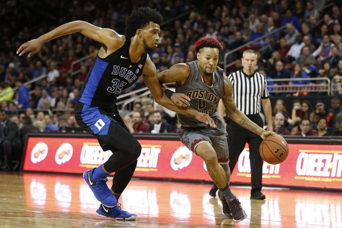 NCAA Basketball: Duke at Boston College