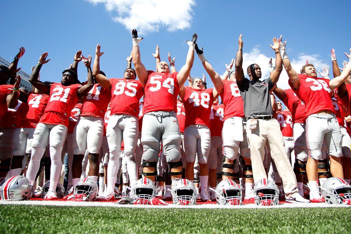 This is a picture of Gratifying Ohio State Football Schedule Printable