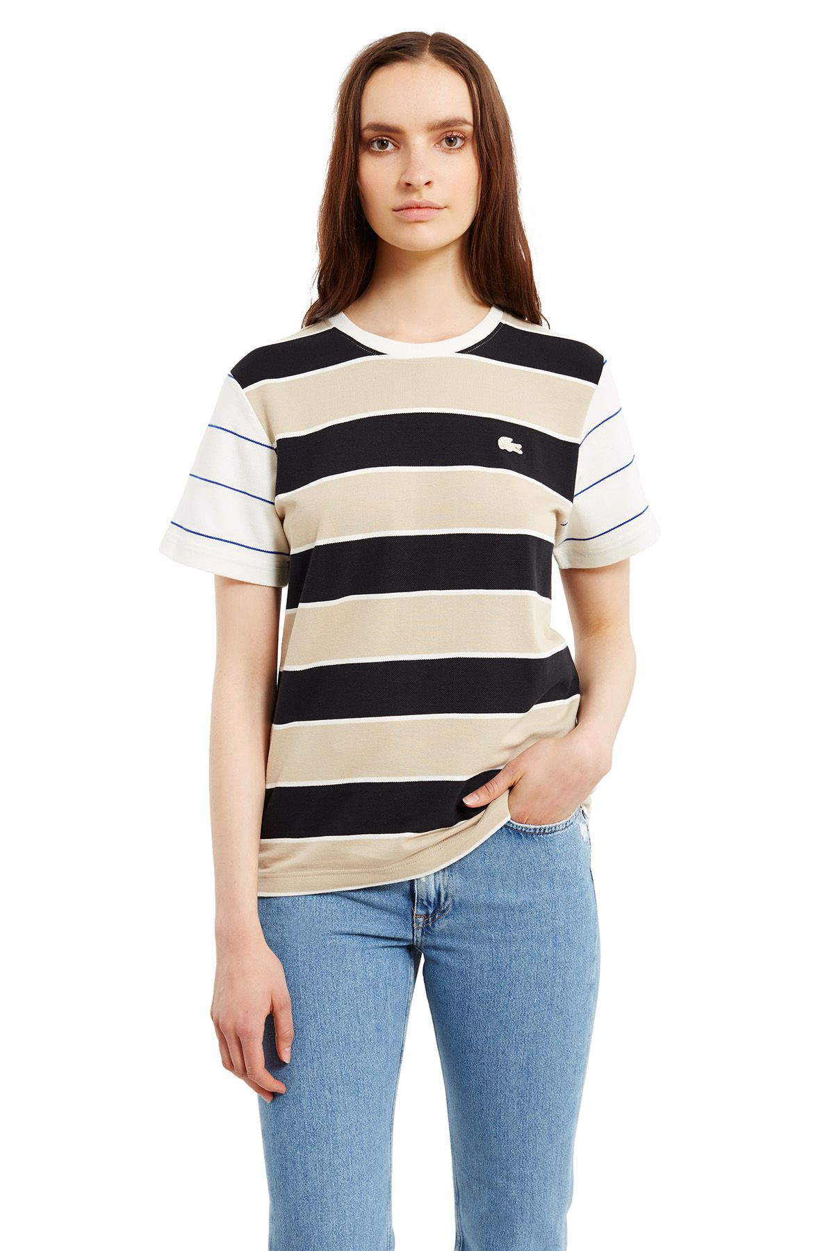 Lacoste x Opening Ceremony striped tee