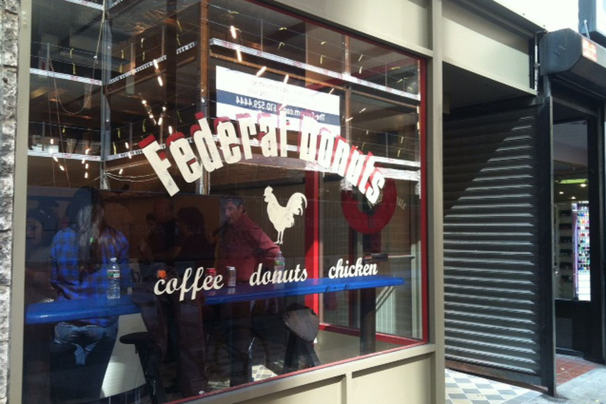Federal Donuts is open today.