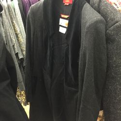 Red Label coat, $560 (was $1,400)