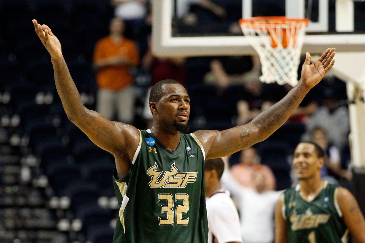 NCAA Basketball Tournament - South Florida v Temple