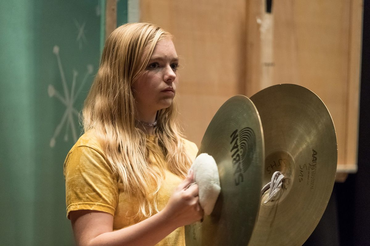 Elsie Fisher in the movie Eighth Grade