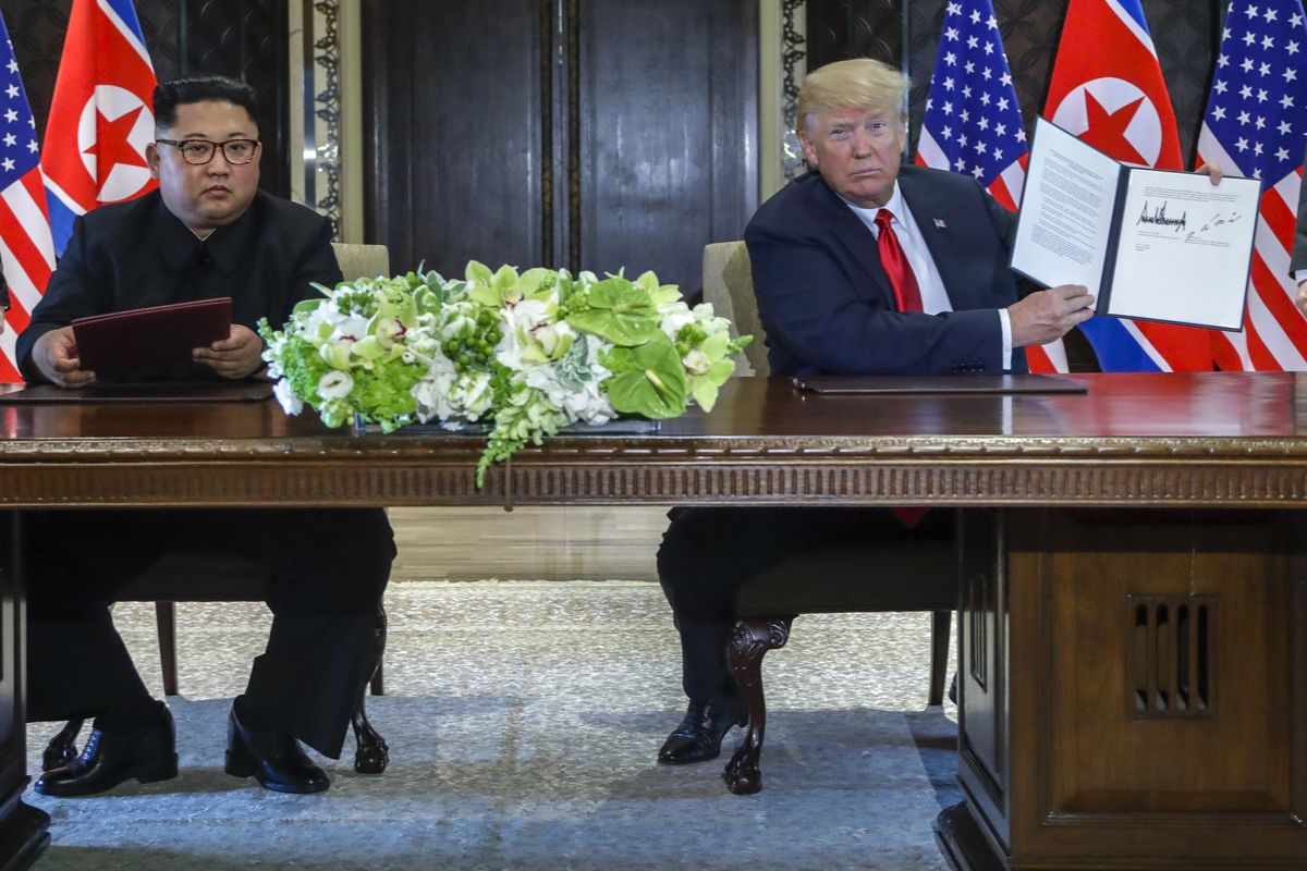Trump Kim Summit Read The Full Text Of The Agreement Between North