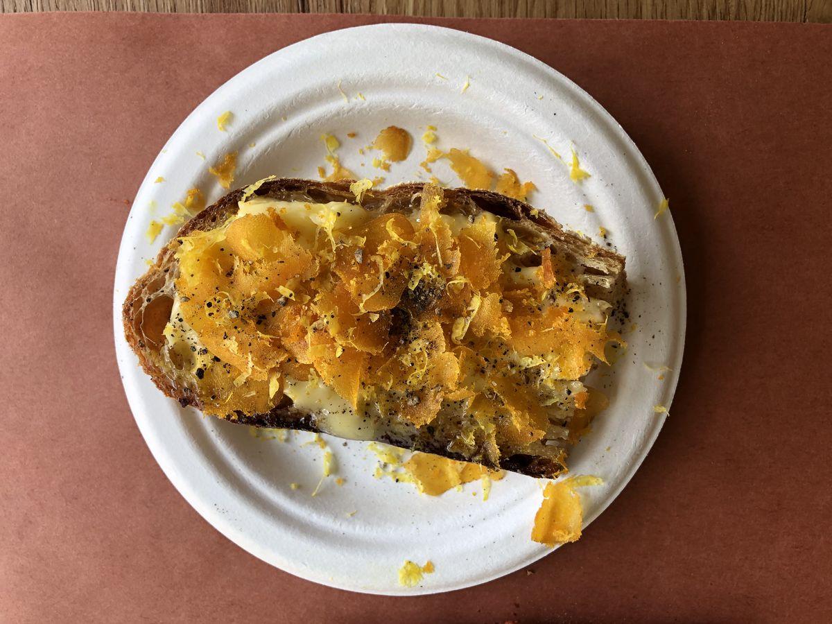 Bottarga bread