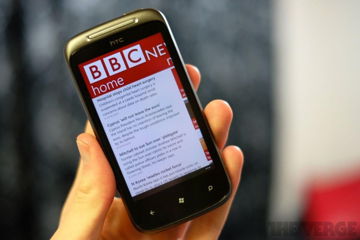 fake bbc windows phone app