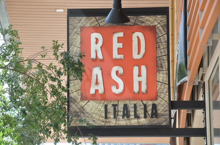 Red Ash's sign