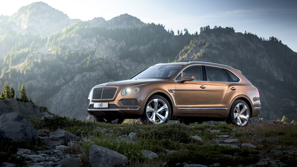 This Is The Bentley Bentayga Fastest Suv On Planet