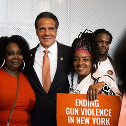 New York Gov. Andrew Cuomo greets supporters and declares a state of emergency Tuesday due to the ongoing violence on in New York City. The new declaration by Cuomo will come with millions of dollars for gun and violence prevention programs across the state. The governor also announced that he will be signing a law that bars individuals with active warrants from buying a gun in the state of New York. Over the July 4th holiday weekend, 51 people were shot in New York.