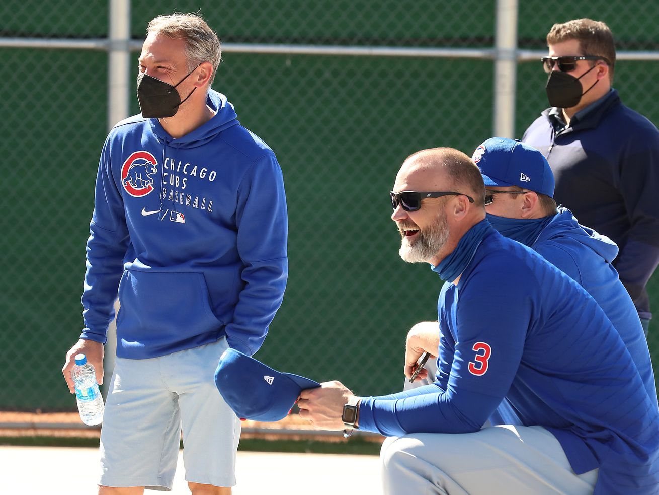 Jed Hoyer glad players receptive to idea of staying with Cubs long term