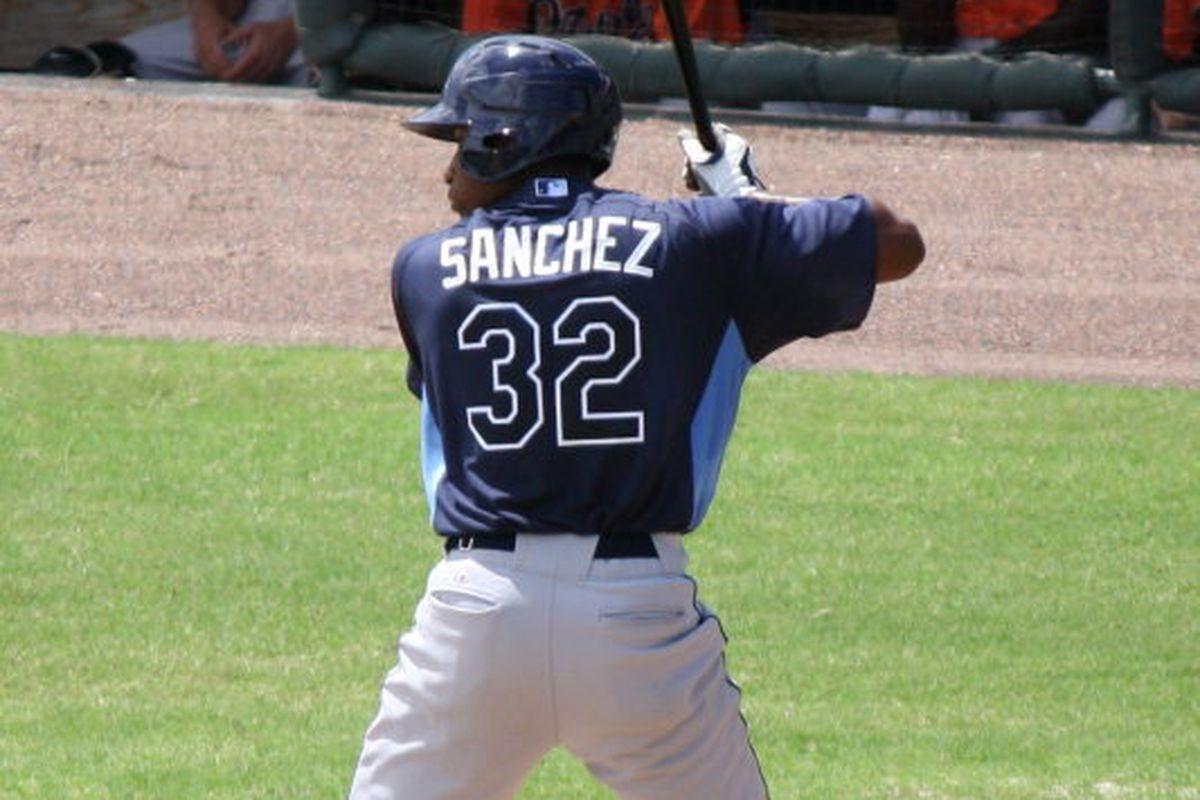 Manny Sanchez has a .912 OPS through 12 games this season