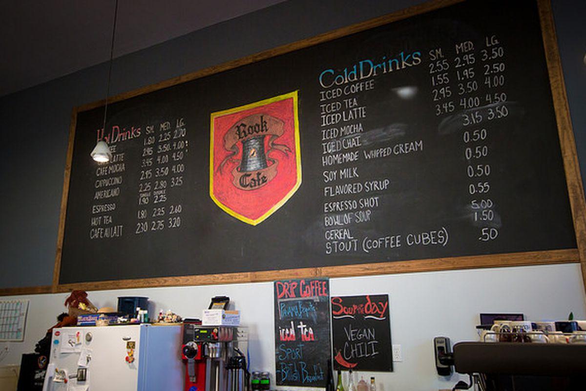 Inside The Rook Cafe
