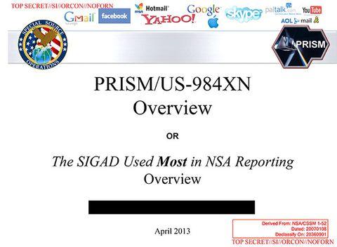 Secret program gives NSA, FBI backdoor access to Apple, Google