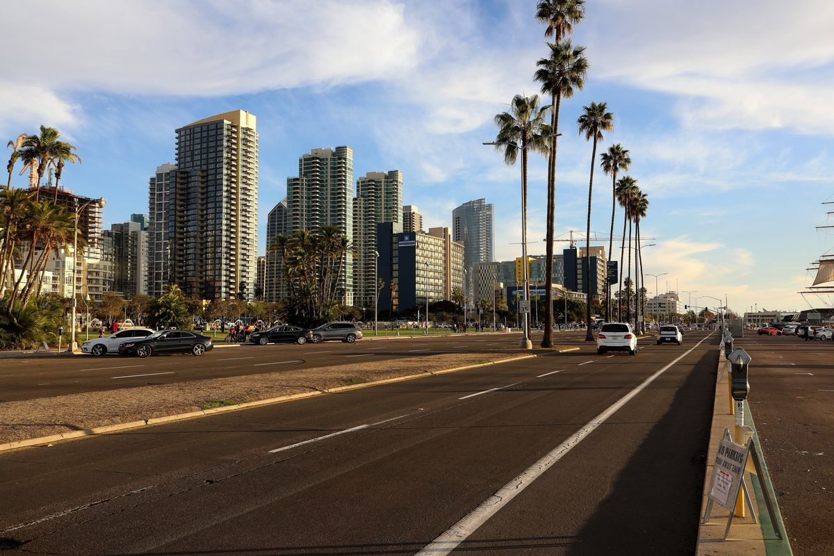 San Diego Cityscapes and City Views