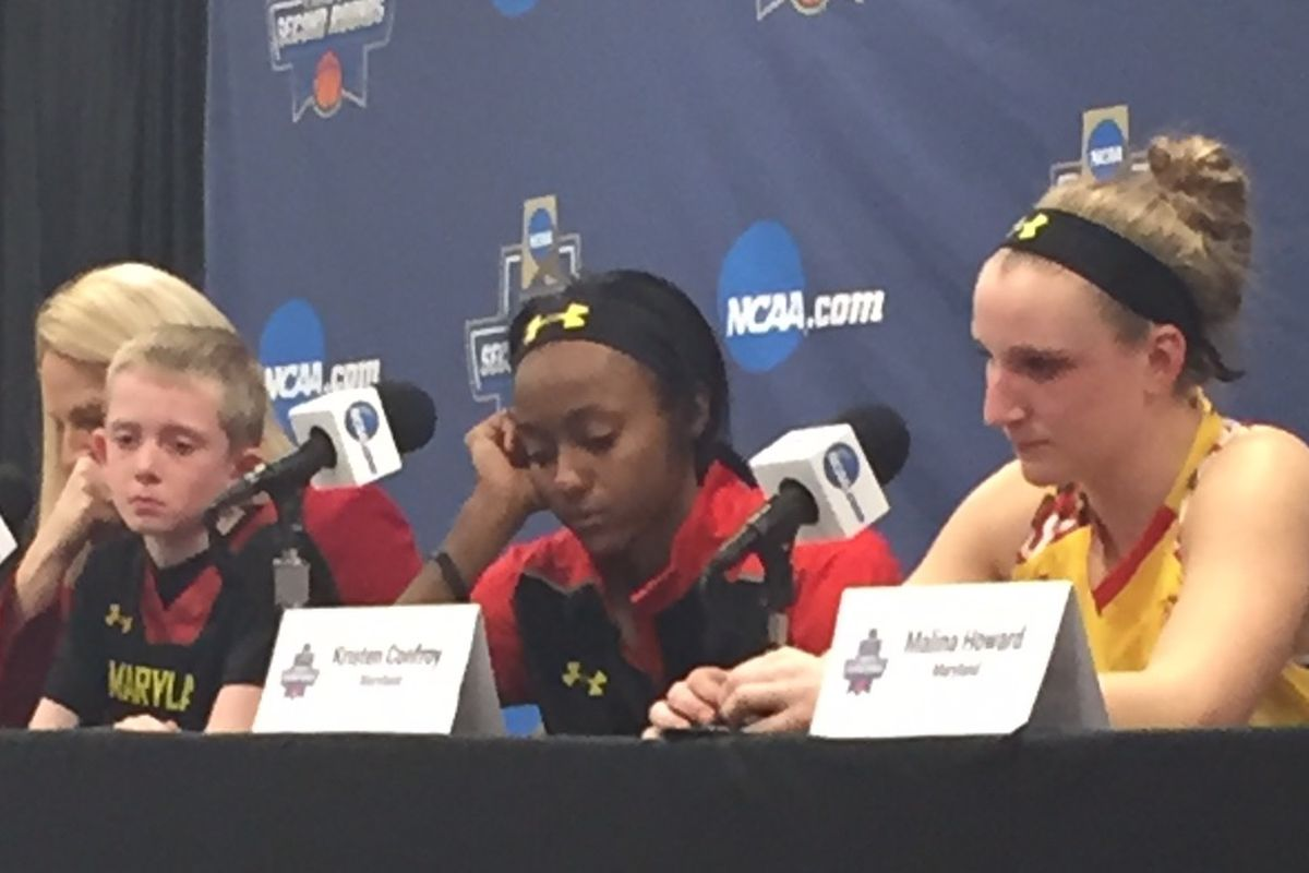 Maryland women's basketball was upset in the second round of the NCAA Tournament