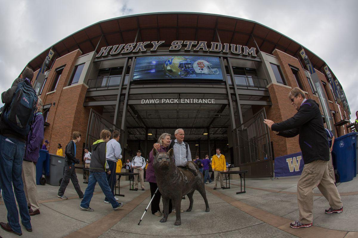 The new Husky Stadium, home to your ranked Washington Huskies