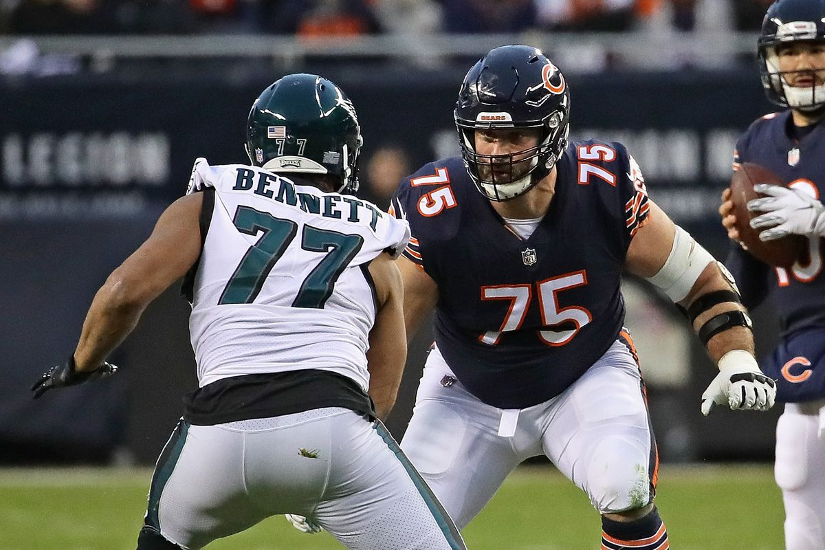 Bears' Kyle Long left at home two days after practice fight