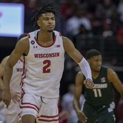 """Aleem Ford had what Greg Gard called """"the best game of his career."""" Ford finished with 13 points and four boards."""